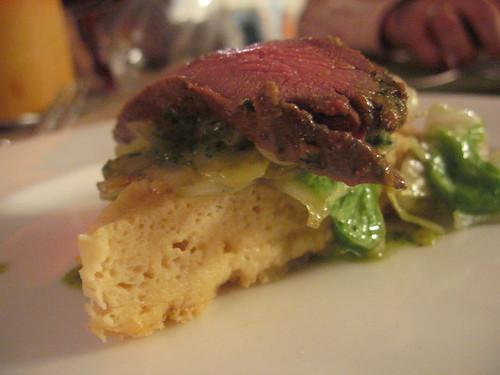 Dissident Chef-course 7: seared venison (