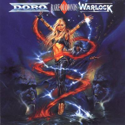 doro warlock rare diamonds 1991 cover