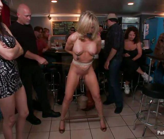 Simone Sonay Mark Davis In Mature Pornstar Humiliated In A Bar Hd From Kink Public Disgrace
