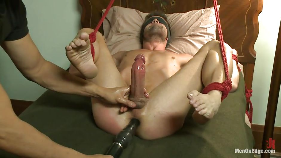 Gay Tied Anal
