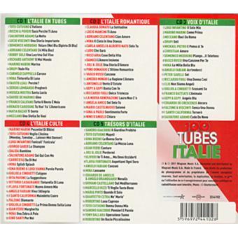 100 tubes italie