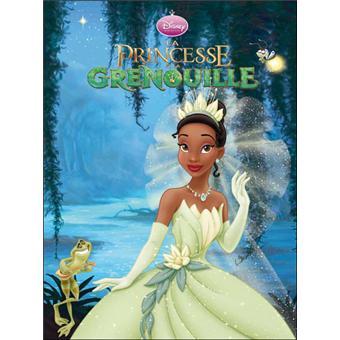La Princesse Et La Grenouille Cartonn Walt Disney