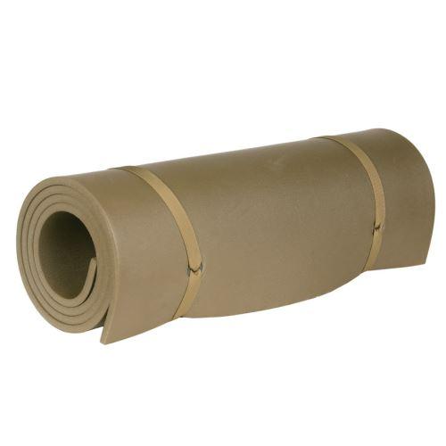 tapis matelas de couchage de camping ou d appoint marron en mousse 195 x 60 x 1 cm fosco