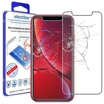 ebeststar verre trempe iphone xr film protection ecran vitre protecteur anti casse anti rayure pose sans bulles dimensions precises smartphone