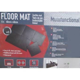 dalles de sol tapis anti bruit anti choc et vibration en mousse
