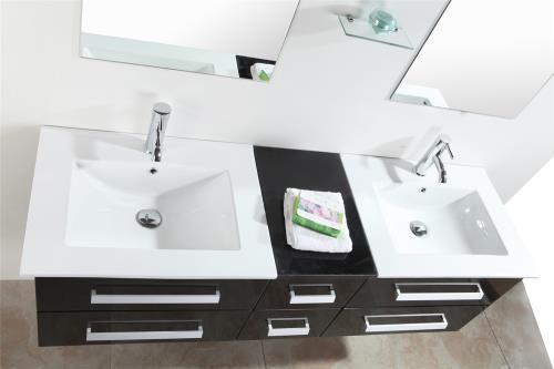Meuble Salle De Bain Double Vasque Luxe Beau Meuble Double Vasque 150 Cm Modele Rome Installations Salles De Bain Achat Prix Fnac