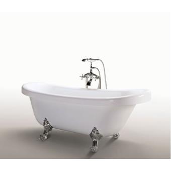bainoire ilot baignoire ovale baignoire retro acrylique nouveau vintage modele margherita installations salles de bain achat prix fnac