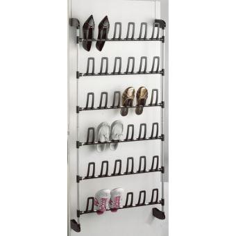 range chaussures en acier laque pour porte noir et gris angela grand modele