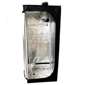 6 49 sur blackbox silver chambre de culture bbs eco 60x60x140 cm placard armoire de culture culture hydroponique achat prix fnac