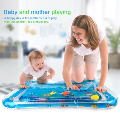 stillcool tapis d eau gonflable de bebe centre de jeu d activite d enfant dessin ocean