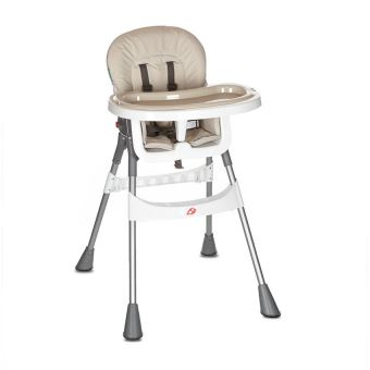 chaise haute metal premaman beige