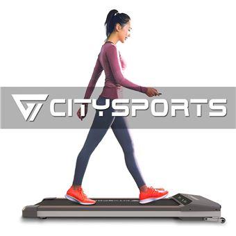 tapis de marche et de course pliable citysports wp1 moteur silencieux 400w 1 5cv jusqu a 6 km h