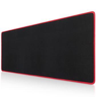 cabling tapis de souris xxl 580x300x4mm mouse pad grand tapis de souris gamer avec base en caoutchouc anti glissant surface texturee pour