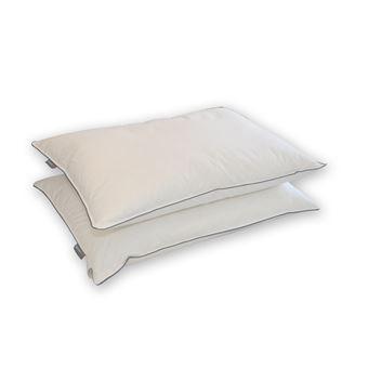 oreiller de haute qualite 100 naturel en duvet et plume de canard 50x70cm memorypur achat prix fnac