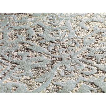 bobochic tapis shabby gris vert 80cm x 150cm