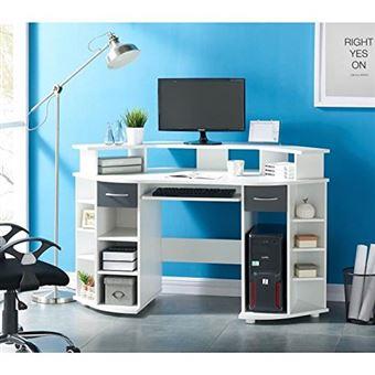working bureau d angle 146 cm blanc