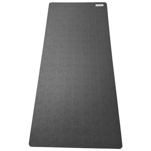 skandika tapis de protection sol pour appareils fitness 90 x 200 cm noir