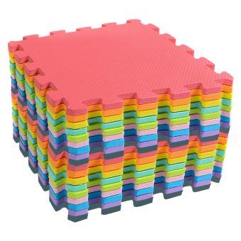 tapis de jeu multicolore pour tapis de jeu d exercices de puzzle tapis de sol en mousse eva mk2708