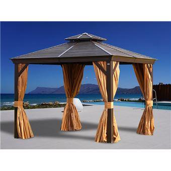 https www fnac com mp44723111 tonnelle san bruno avec rideaux et moustiquaire 3x3m marron w 4