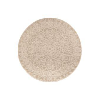 tapis rond d exterieur naturel 160 cm mozaic