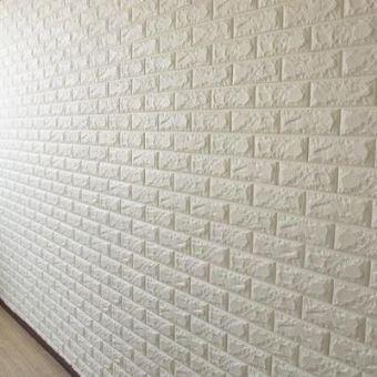 luxe 3d effet pierre mur brique texture vinyle papier peint autocollant 60x30cm