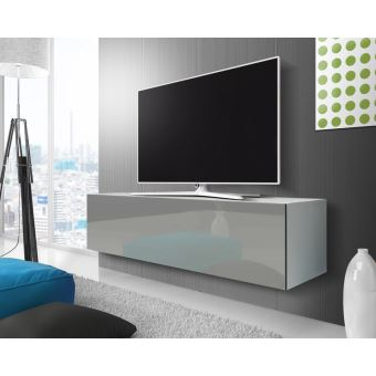 الموئل شرقي مشكلة meuble tv blanc suspendu
