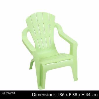 chaise fauteuil pour enfant en plastique style colonial