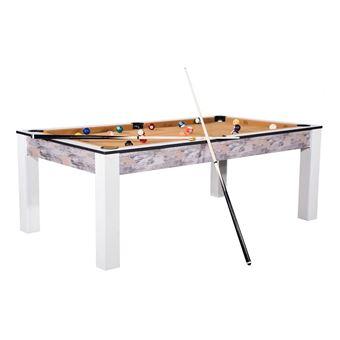 https www fnac com mp43941395 billard island 185cm design atelier tapis beige convertible table salle manger w 4