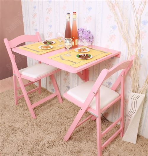 35cm table murale rabattable table
