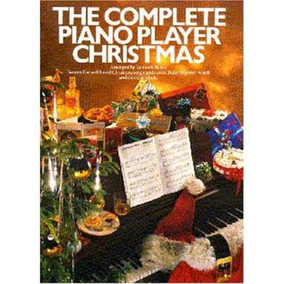 Partitions variété, pop, rock... MUSIC SALES BAKER - THE COMPLETE PIANO PLAYER - CHRISTMAS - PVG Piano voix guitare