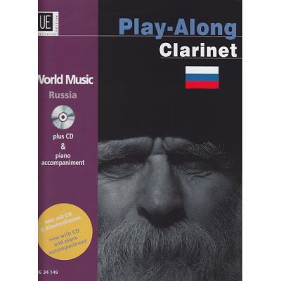 Partitions variété, pop, rock... UNIVERSAL EDITION PLAY-ALONG CLARINET - RUSSIA + CD Musique du monde