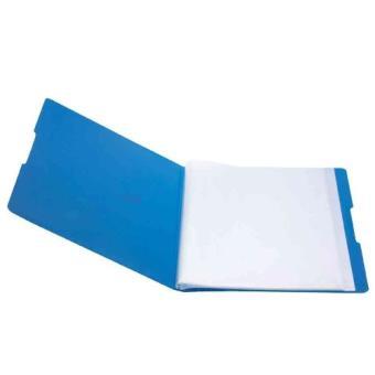 herlitz 11207347 porte vue a4 20 pochettes etiquette de dos opaque bleu opak schwarz