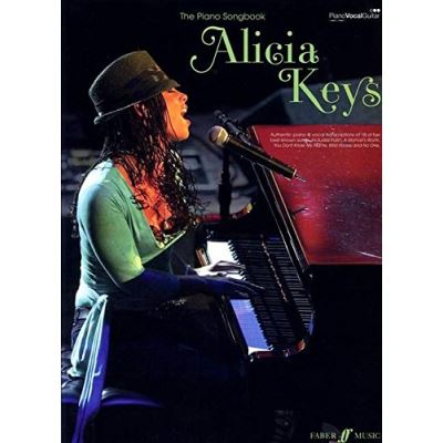 Keys Alicia Piano Songbook P/V/G Best Of 20 Titres