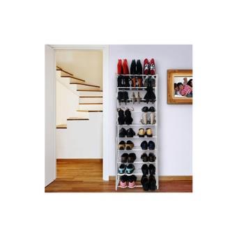 etagere range chaussures 30 paires