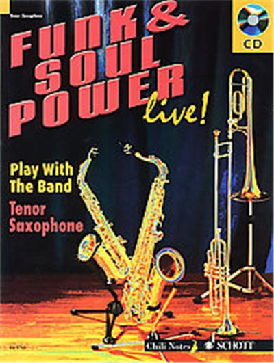 Funk and Soul Power, Play With the Band, Tenor Saxophone