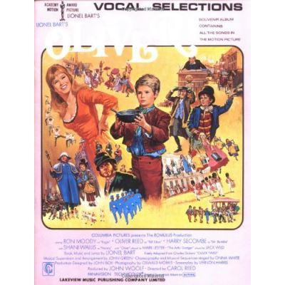 Partitions variété, pop, rock... MUSIC SALES LIONEL BART´S OLIVER! VOCAL SELECTIONS- PVG Musique films - comédies musical