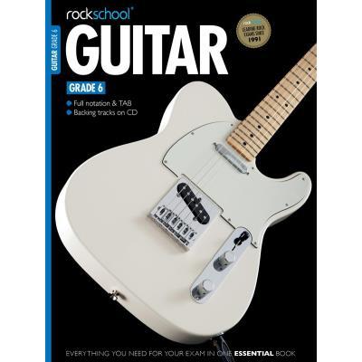 Méthodes et pédagogie ROCK SCHOOL LIMITED ROCKSCHOOL - ROCKSCHOOL GUITAR - GRADE 6 - GUITAR Guitare acoustique