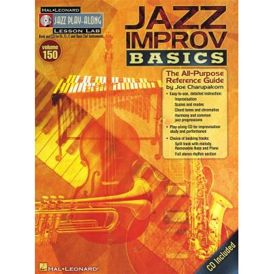 Jazz Play-Along Vol.150 Jazz Improv Basics + Cd