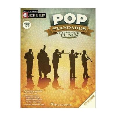 Jazz Play-Along Vol.172 Pop Standards 10 Favorite Tunes + Cd