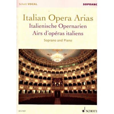 Italian Opera Arias (Airs D´Operas Italiens) - Voix Soprano/Piano