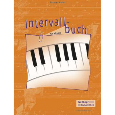 Partitions classique EDITION BREITKOPF HELLER BARBARA - INTERVALLBUCH FUR KLAVIER - PIANO Piano