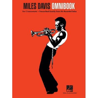 Partitions jazz&blues HAL LEONARD MILES DAVIS - OMNIBOOK (C Instruments) Instrument en do
