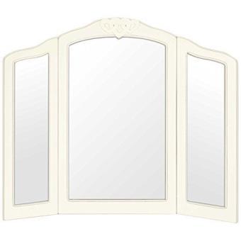 Innova M04966 Casa Vintage Coeurs Miroir Pour Coiffeuse 68 5 X 56 5 Cm Miroir Achat Prix Fnac