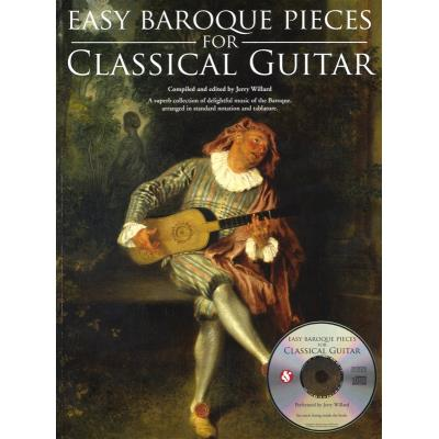 Partitions classique MUSIC SALES EASY PIECES FOR BAROQUE + CD - GUITAR Guitare