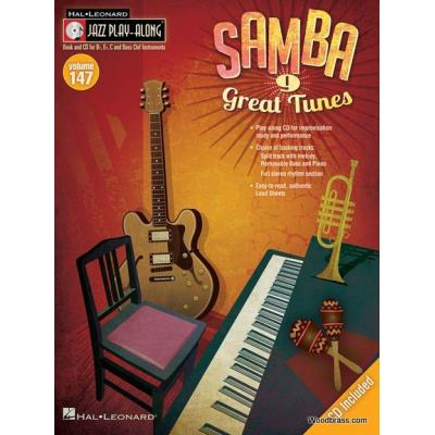Jazz Play-Along Vol.147 Samba + Cd