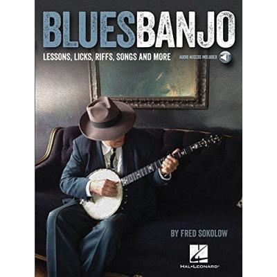 Blues Banjo Lessons, Licks, Riffs, Songs And More + Download Card
