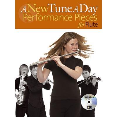 Partitions variété, pop, rock... BOSWORTH A NEW TUNE A DAY PERFORMANCE PIECES - FLUTE Vents