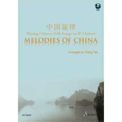 Partitions classique SCHOTT MELODIES OF CHINA - CLARINET Bb Clarinette