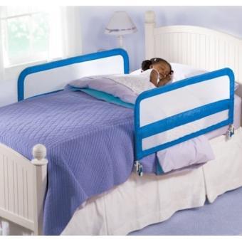 summer infant 12141 double rail de lit pliable bleu barrieres de protection achat prix fnac