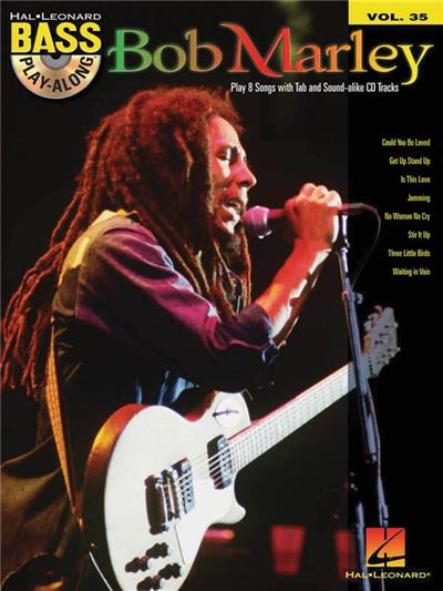 Bass Play-Along Vol.35 Bob Marley + Cd